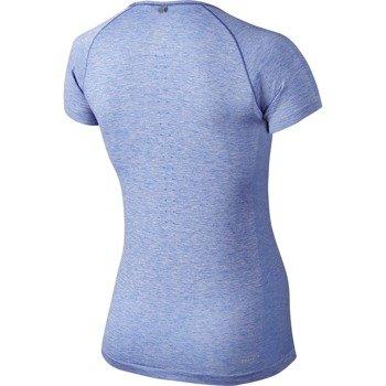 koszulka do biegania damska NIKE DRI-FIT KNIT / 718569-486