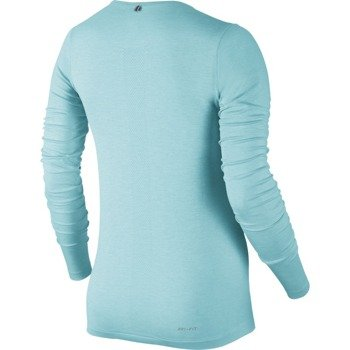koszulka do biegania damska NIKE DRI-FIT KNIT LONGSLEEVE / 644683-437