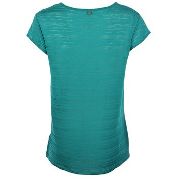 koszulka do biegania damska NIKE DRI FIT TOUCH BREEZE STRIPE SHORTSLEEVE