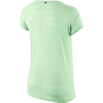 koszulka do biegania damska NIKE DRI FIT TOUCH BREEZE STRIPE SHORTSLEEVE / 589044-308