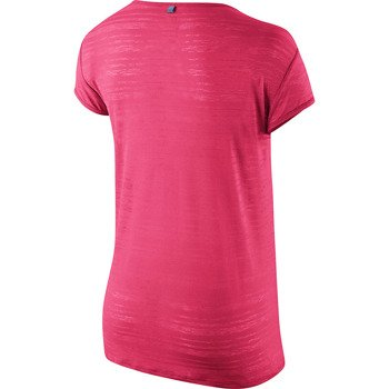koszulka do biegania damska NIKE DRI FIT TOUCH BREEZE STRIPE SHORTSLEEVE / 589044-639