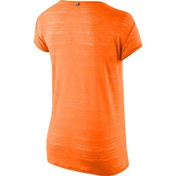 koszulka do biegania damska NIKE DRI FIT TOUCH BREEZE STRIPE SHORTSLEEVE / 589044-807
