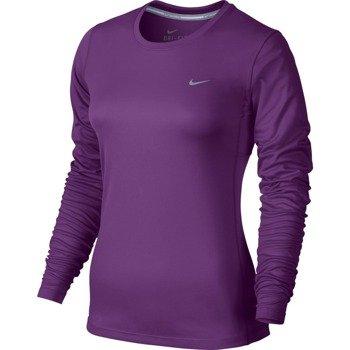 koszulka do biegania damska NIKE MILER LONGSLEEVE / 686904-513