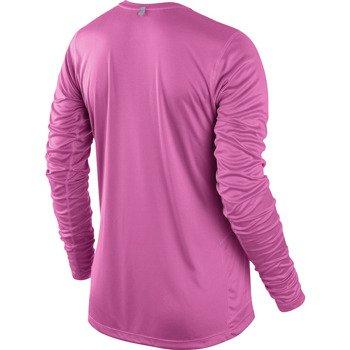 koszulka do biegania damska NIKE MILER LONGSLEEVE TOP / 519833-667