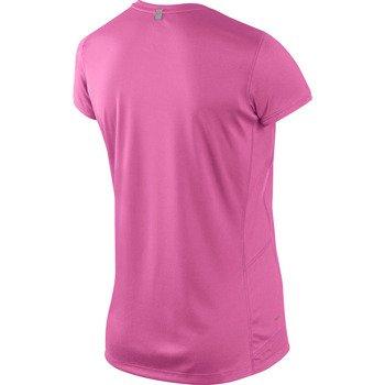 koszulka do biegania damska NIKE MILER SHORTSLEEVE CREW TOP / 519829-669
