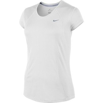 koszulka do biegania damska NIKE RACER SHORT SLEEVE / 645443-100