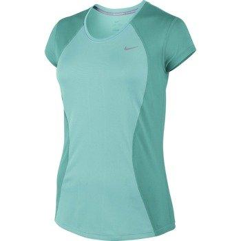 koszulka do biegania damska NIKE RACER SHORT SLEEVE / 645443-466