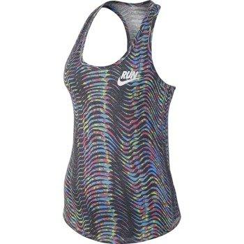 koszulka do biegania damska NIKE RUN PRINTED FLOW TANK / 778401-105