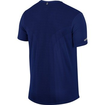 koszulka do biegania męska NIKE DRI-FIT CONTOUR SHORT SLEEVE  / 683517-455