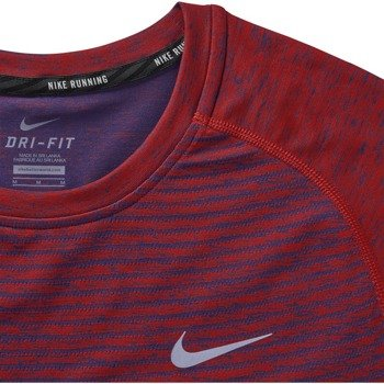 koszulka do biegania męska NIKE DRI-FIT KNIT SHORT SLEEVE / 717758-406