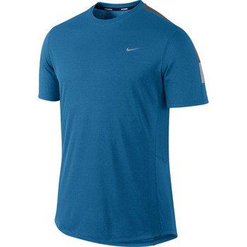 koszulka do biegania męska NIKE RACER SHORTSLEEVE / 543231-418