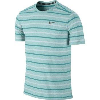 koszulka do biegania męska NIKE TAILWIND STRIPE CREW / 642132-405