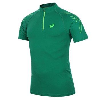 koszulka kompresyjna do biegania męska ASICS INNER MUSCLE 1/2 ZIP TOP / 114435-5007