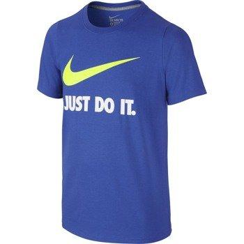 koszulka sportowa chłopięca NIKE JUST DO IT SWOOSH TEE / 709952-480