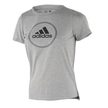koszulka sportowa damska ADIDAS BOXY LOGO TEE / AJ6387