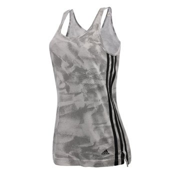 koszulka sportowa damska ADIDAS ESSENTIALS 3S TANK PAPERPRINT / AJ4680