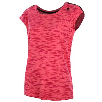 koszulka sportowa damska ADIDAS ESSENTIALS THE TEE ALL OVER PRINTED / AB5909