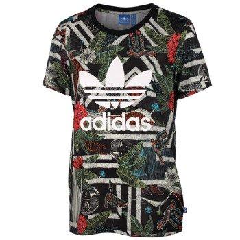 koszulka sportowa damska ADIDAS XILOFLORESTA LOGO TEE / S19328