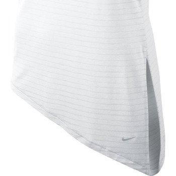 koszulka sportowa damska NIKE CLUB TIE TEE STRIPE / 637557-100