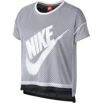 koszulka sportowa damska NIKE CROP TEE-MESH / 726110-100