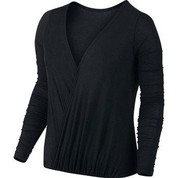 koszulka sportowa damska NIKE DRAPED REVERSIBLE TOP / 743170-010