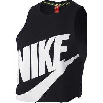 koszulka sportowa damska NIKE NTF CROP SLEVELESS TOP / 649704-010