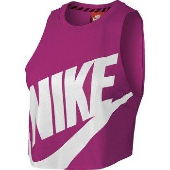 koszulka sportowa damska NIKE NTF CROP SLEVELESS TOP / 649704-602