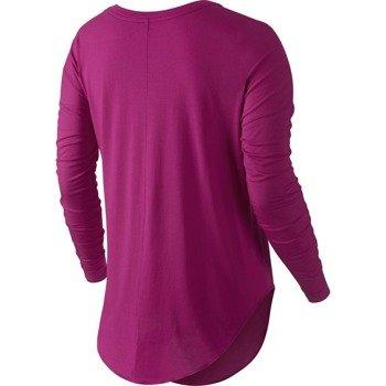 koszulka sportowa damska NIKE SIGNAL LONG SLEEVE TEE / 678389-607