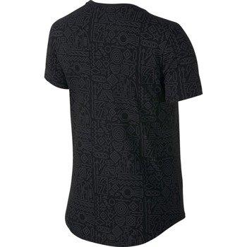 koszulka sportowa damska NIKE TEE FOOTWEAR DNA ALL OVER PRINTED / 685500-010