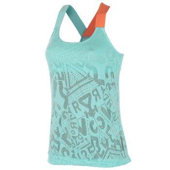 koszulka sportowa damska REEBOK ONE SERIES BURNOUT LONG BRA TANK / B88061
