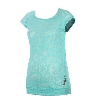 koszulka sportowa damska REEBOK ONE SERIES BURNOUT TEE / B88065