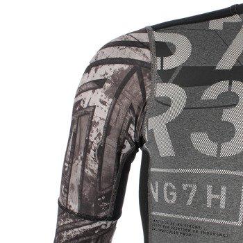 koszulka sportowa męska REEBOK ONE SERIES FE26 RUSH LONGSLEEVE COMPRESSION TOP  / AA8219