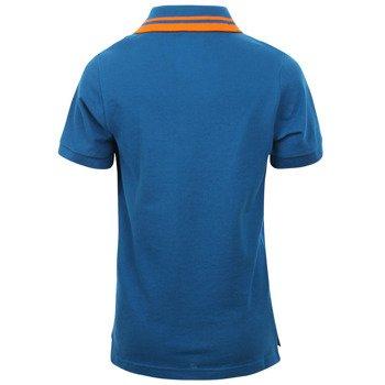 koszulka tenisowa chłopięca NIKE CLUB SOLID PIQUE SHORT SLEEVE POLO / 588780-417