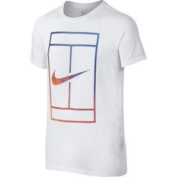koszulka tenisowa chłopięca NIKE IRRIDESCENT COURT TEE / 832331-100