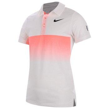 koszulka tenisowa chłopięca NIKE RF POLO / 746577-100