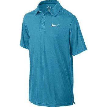 koszulka tenisowa chłopięca NIKE TEAM COURT POLO / 642071-407
