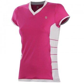 koszulka tenisowa damska K-SWISS GAME CAMPSLEEVE