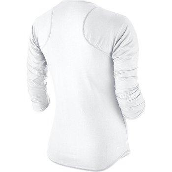koszulka tenisowa damska NIKE BASELINE 3/4 SLEEVE TOP / 558819-100