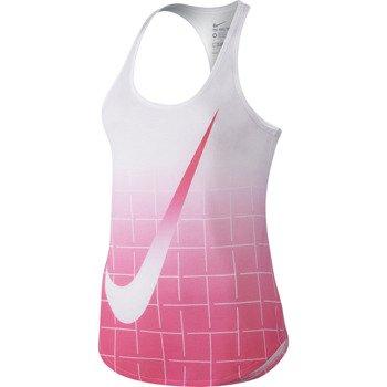 koszulka tenisowa damska NIKE CONTENDER GRID FADE TANK / 646572-102