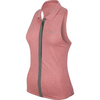 koszulka tenisowa damska NIKE DRI-FIT TOUCH SLEEVELESS POLO Victoria Azarenka French Open 2014