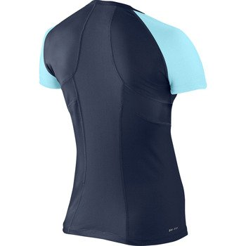 koszulka tenisowa damska NIKE POWER SHORTSLEEVE TOP / 523422-410