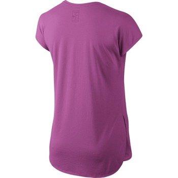 koszulka tenisowa damska NIKE PRACTICE TOP / 728752-501