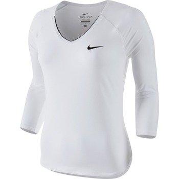 koszulka tenisowa damska NIKE PURE TOP / 728791-100