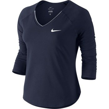 koszulka tenisowa damska NIKE PURE TOP / 728791-404