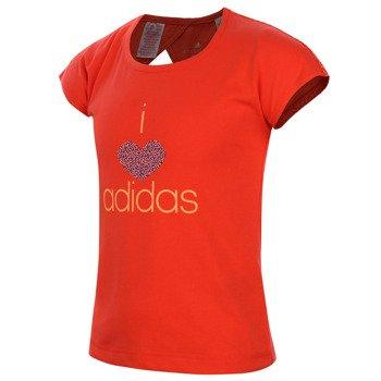 koszulka tenisowa dziewczęca ADIDAS WARDROBE SMART TEE / S16411