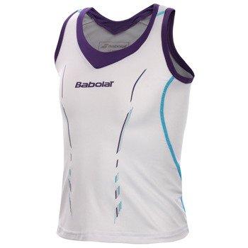 koszulka tenisowa dziewczęca BABOLAT TANK MATCH PERFORMANCE