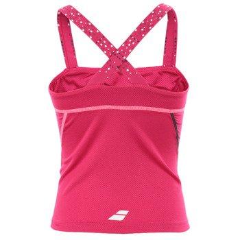 koszulka tenisowa dziewczęca BABOLAT TANK MATCH PERFORMANCE / 42S1552-127
