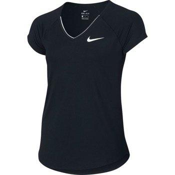 koszulka tenisowa dziewczęca NIKE PURE TOP / 832334-010