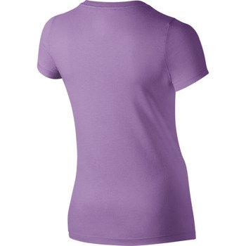 koszulka tenisowa dziewczęca NIKE SWOOSH NOVELTY TEE / 666159-510