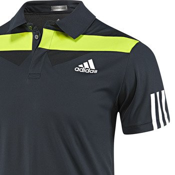koszulka tenisowa męska ADIDAS BARRICADE TRADITIONAL POLO Roland Garros 2014 / D87297